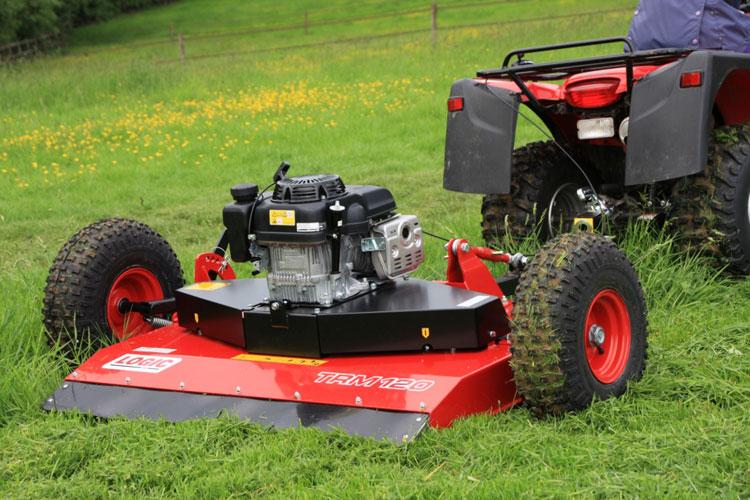 Cirkelmaaier voor quad of ATV
